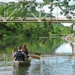 canoing on the schoharie